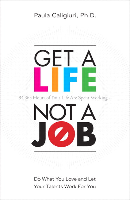 front to back get a life not a job is under 200 pages and a quick read if thats all you intend to do with it